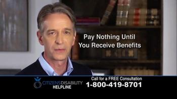 Citizens Disability Helpline TV Spot, 'Social Security Benefits' - Thumbnail 9