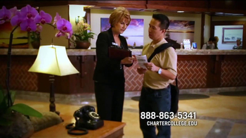 Charter College TV Spot, 'Hospitality Careers' - Thumbnail 3