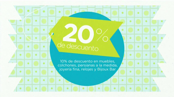 JCPenney Descuentos Extras TV Spot [Spanish] - Thumbnail 7