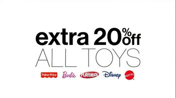 Kohl's TV Spot, '20% Off Toys'