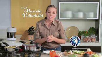 Royal Prestige TV Spot Con Chef Marcela Valladolid [Spanish]
