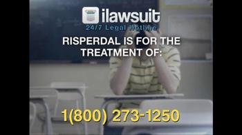 iLawsuit Legal Hotline TV Spot, 'Risperdal' - Thumbnail 3