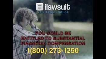 iLawsuit Legal Hotline TV Spot, 'Risperdal' - Thumbnail 9
