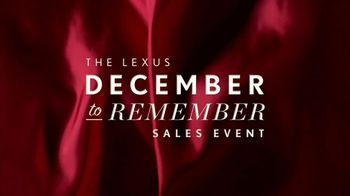Lexus December to Remember TV Spot, 'Bow Craftsmanship' - 465 commercial airings