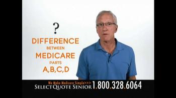 Select Quote Senior TV Spot, 'Medicare Questions'