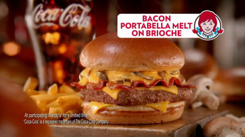 Wendy's Bacon Portabella Melt on Brioche TV Spot, 'Melt with You' - Thumbnail 8