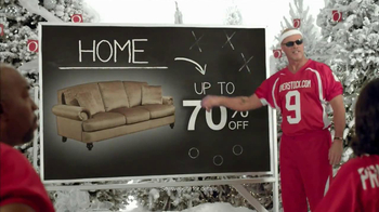 Overstock.com TV Spot, 'Pep Talk' Featuring Mike Ditka - Thumbnail 8