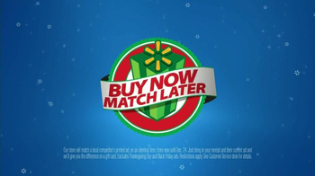 Walmart Christmas Ad Match TV Spot, 'Extra Time' - Thumbnail 9