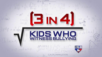 MLB Network TV Spot, 'Stop Bullying' - 29 commercial airings