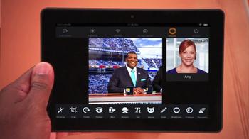 Amazon Kindle Fire HDX TV Spot, 'Fox Football' Featuring Curt Menefee - Thumbnail 9