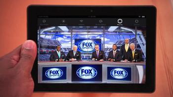 Amazon Kindle Fire HDX TV Spot, 'Fox Football' Featuring Curt Menefee - Thumbnail 1