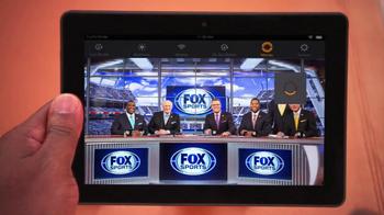 Amazon Kindle Fire HDX TV Spot, 'Fox Football' Featuring Curt Menefee - Thumbnail 2