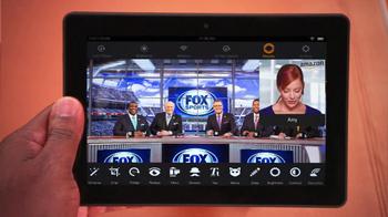 Amazon Kindle Fire HDX TV Spot, 'Fox Football' Featuring Curt Menefee - Thumbnail 6