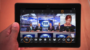 Amazon Kindle Fire HDX TV Spot, 'Fox Football' Featuring Curt Menefee - Thumbnail 7