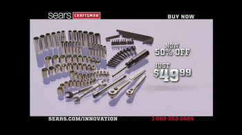 Sears Crafstman TV Spot, 'Up To 50% Off' - Thumbnail 3