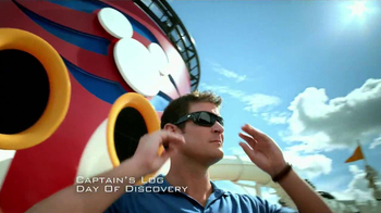Disney Cruise Line TV Spot, 'Captain's Log: Day of Discovery' - Thumbnail 2