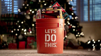 The Home Depot TV Spot, 'Let's Do Gifts' - 1075 commercial airings
