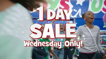 Toys R Us 1 Day Sale TV Spot - 626 commercial airings