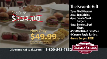 Omaha Steaks TV Spot, 'Holiday Gifts' - Thumbnail 9