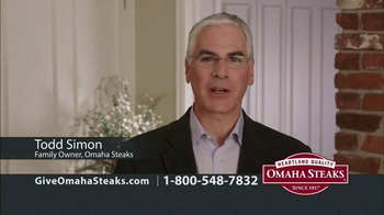 Omaha Steaks TV Spot, 'Holiday Gifts' - Thumbnail 1