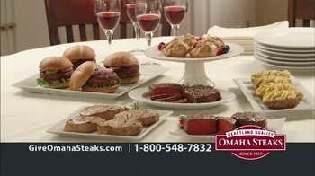 Omaha Steaks TV Spot, 'Holiday Gifts' - Thumbnail 5