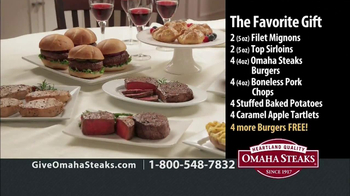 Omaha Steaks TV Spot, 'Holiday Gifts' - Thumbnail 8