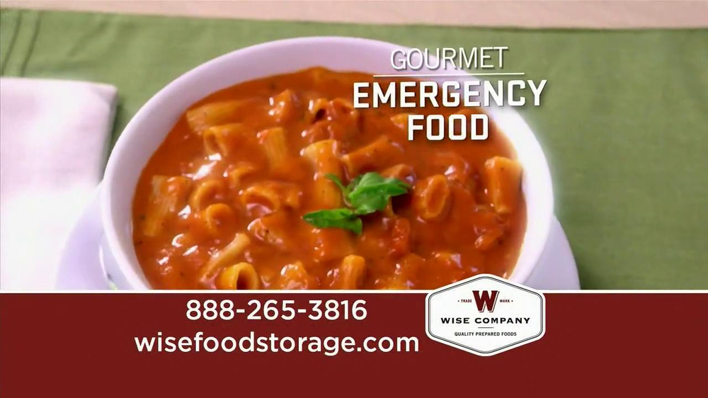 Wise Food Storage TV Commercial, 'Life-Changing Crisis'