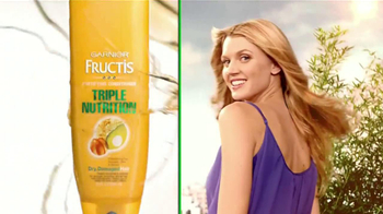 Garnier Fructis Triple Nutrition TV Spot, 'Nido de pájaros' [Spanish] - Thumbnail 10