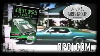 OPGI Original Parts Group Inc TV Spot, 'Cutlass, Free Catalog' - Thumbnail 10