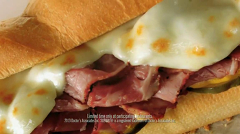 Subway Pastrami TV Spot, 'Bring on the Flavor' Feat. Robert Griffin III - Thumbnail 6
