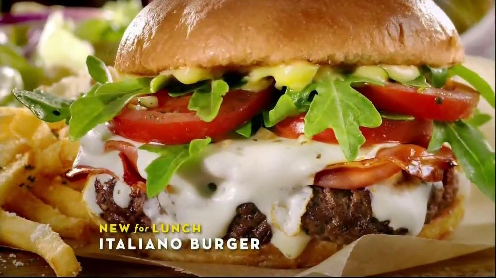 Olive Garden Italiano Burger TV Spot