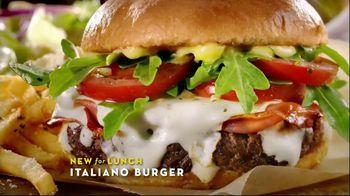 Olive Garden Italiano Burger TV Spot