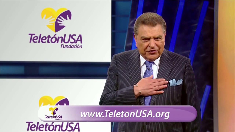 Telet??n USA TV Commercial Con Don Francisco