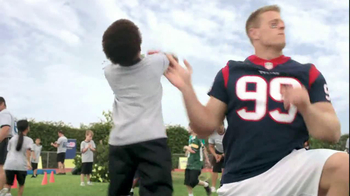 NFL Play 60 TV Spot, 'School Play' Featuring J.J. Watt - Thumbnail 9
