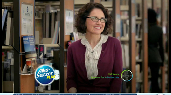 Alka-Seltzer Plus Cold and Cough TV Spot, 'Library' - Thumbnail 10