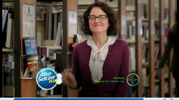 Alka-Seltzer Plus Cold and Cough TV Spot, 'Library' - Thumbnail 9