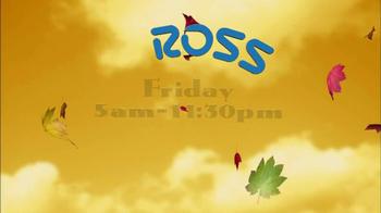 Ross After Thanksgiving Blowout TV Spot  - Thumbnail 8