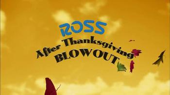 Ross After Thanksgiving Blowout TV Spot