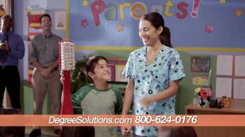 Degree Solutions TV Spot, 'Show and Tell' - 84 commercial airings