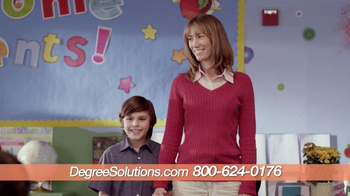 Degree Solutions TV Spot, 'Show and Tell' - Thumbnail 8