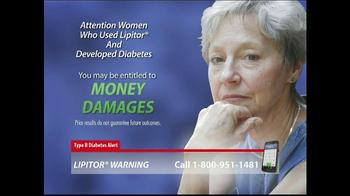 Lipitor Warning TV Spot, 'Type 2 Diabetes Alert' - Thumbnail 10