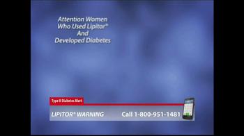 Lipitor Warning TV Spot, 'Type 2 Diabetes Alert' - Thumbnail 2
