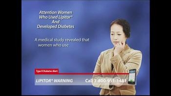 Lipitor Warning TV Spot, 'Type 2 Diabetes Alert' - Thumbnail 5