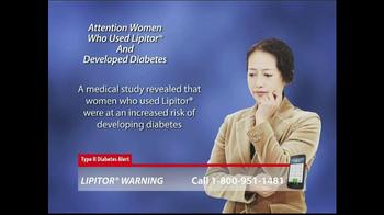 Lipitor Warning TV Spot, 'Type 2 Diabetes Alert' - Thumbnail 6