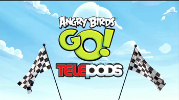Angry Birds Telepods Go Ramp TV Spot, 'Are You In?'