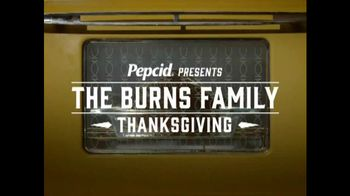 Pepcid Complete TV Spot, 'Burns Family Thanksgiving: Recipe for Heartburn?'