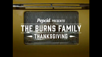 Pepcid Complete TV Spot, 'Burns Family Thanksgiving: Recipe for Heartburn?' - 74 commercial airings