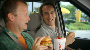 Sonic Drive-In Spicy Chicken Sandwiches TV Spot, 'Flavor Roller Coaster' - Thumbnail 7