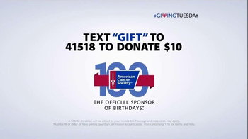 American Cancer Society TV Spot, 'Giving Tuesday' FT Hoda Kotb