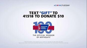 American Cancer Society TV Spot, 'Giving Tuesday' FT Hoda Kotb